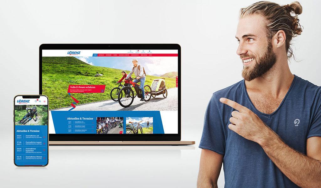 Mehr Surfkomfort mit dem Handy – unsere neue Website ist Online